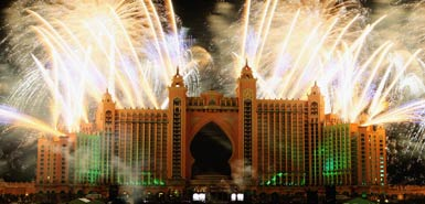Dubai new years