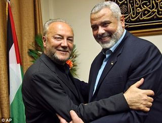 George galloway is hamas' buttboy