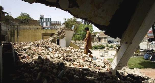 Sikh homes destroyed by the Taliban