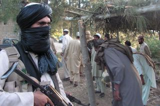 Such peaceful fellows - the Taliban