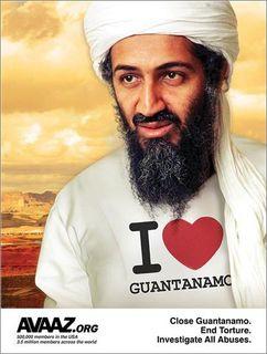 Osama hearts gitmo