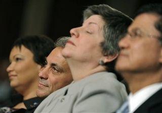 Janet Napolitano - nap time