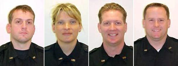 Lakewood PD officers killed by scumbag