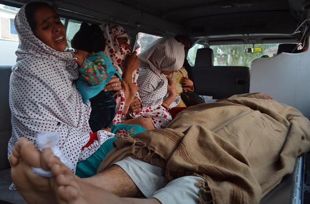 Pakistani mourners