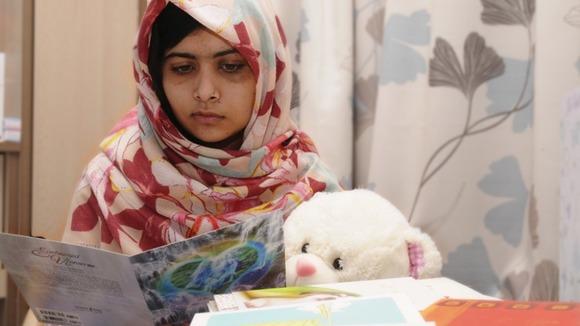 Malala recuperating