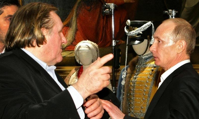 Depardieu and putin