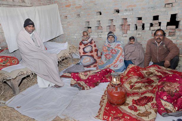 Badri singh pandey and family